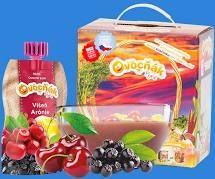 Ovocňák - Pyré Jablko   - višeň, arónie 200 ml