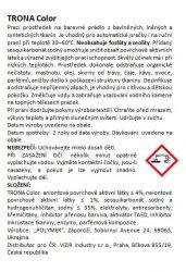 Trona prací prášek Color 0,5kg - universální bezfosfátový prací prášek na barevné prádlo. Polymer Ukrajina
