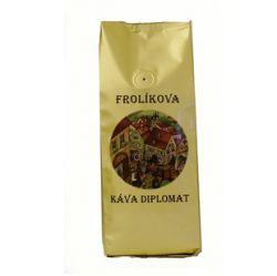 Frolíkova káva Diplomat 1000g Zrnková