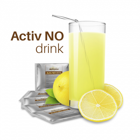 Activ NO drink 1 sáček - Vědecký objev století. Působení zázračné molekuly NO - oxidu dusnatého na naše zdraví. Activstar