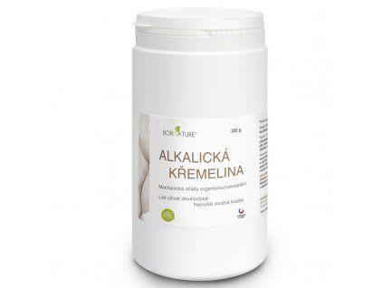 Bornature Alkalická křemelina 500 g mechanický detox trávicího traktu a odvodnění a doplnění křemíku - skvělé pro lidi se špatným či zaneseným cévním systémem