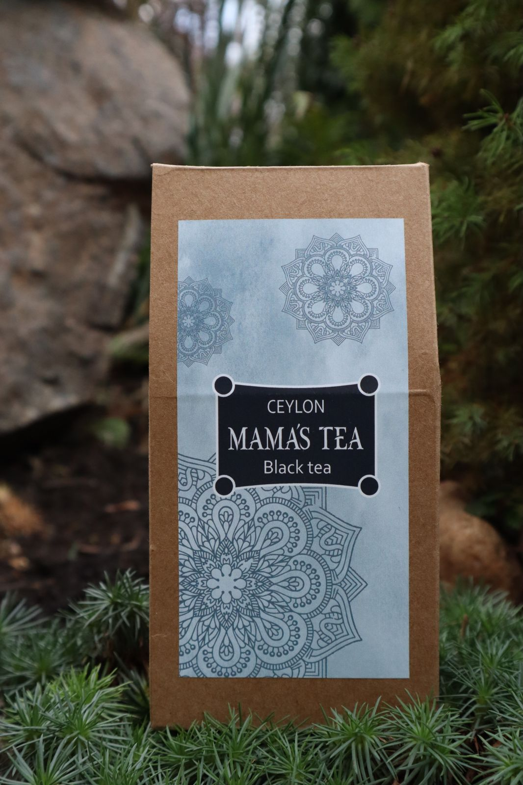 MAMA´S TEA - ČERNÝ ČAJ – MAMA´S OP BLACK - 100% Cejlonský černý čaj 100 g. Nasbíráno ručně na nejlepších čajových plantáží světa v Nuwara Eliya.