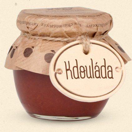 Chuť Moravy - Kdouláda je ovocná pochoutka z plodů kdouloně obecné. 100 ml Chuť Moravy s.r.o.