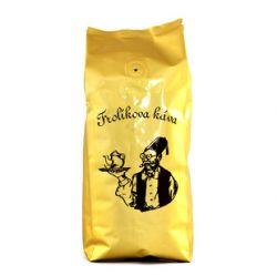 Frolíkova káva Prezident  250 gr zrnková