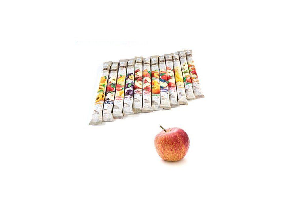Nara-natur NESLAZENÁ - vynikající osvěžující trubička ze 100% jablečné šťávy, 33 x 40 cm, 140 g